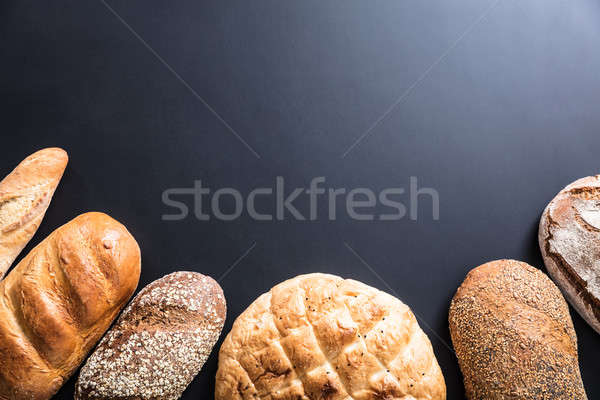 Variety Of Freshly Baked Bread Stock photo © AndreyPopov