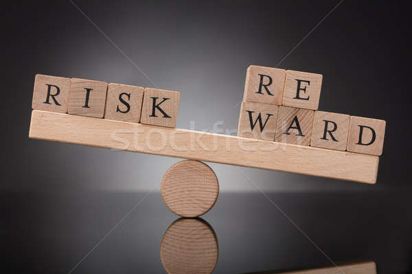 Seesaw Showing Imbalance Between Risk And Reward Stock photo © AndreyPopov