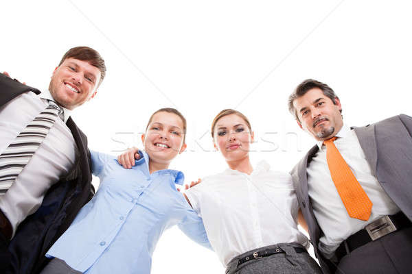 Huddle Of Happy Businesspeople Stock photo © AndreyPopov