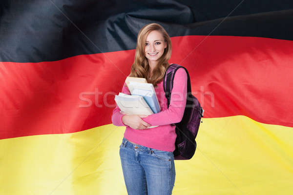 German Female Student Stock photo © AndreyPopov