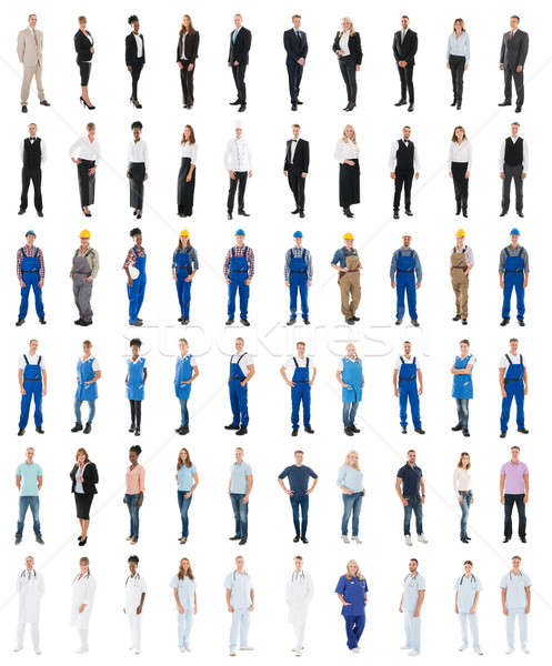 Set Of People With Various Occupations Stock photo © AndreyPopov