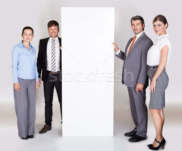 Grupy rząd szczęśliwy Zdjęcia stock © AndreyPopov
