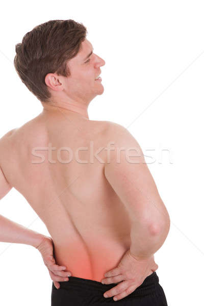 Man With A Backache Stock photo © AndreyPopov
