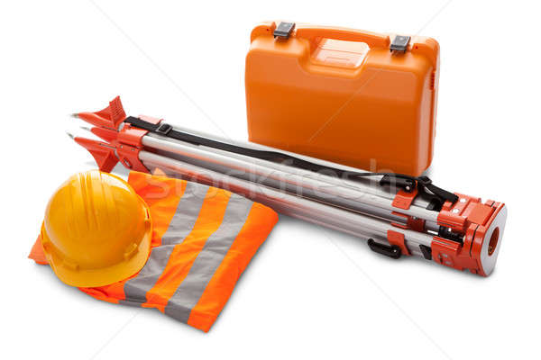 Survey equipment in carrying case Stock photo © AndreyPopov