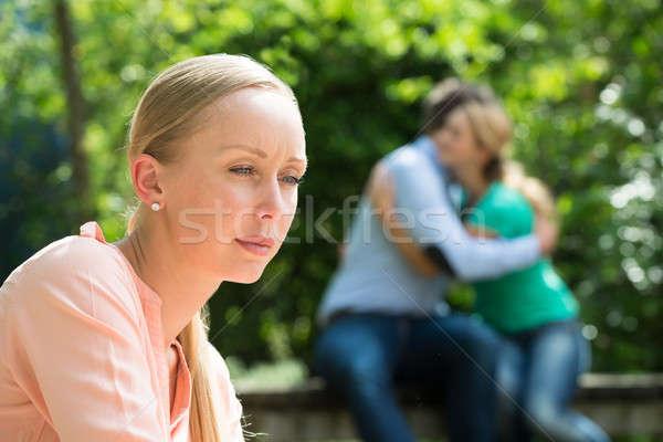 депрессия пару женщину Сток-фото © AndreyPopov