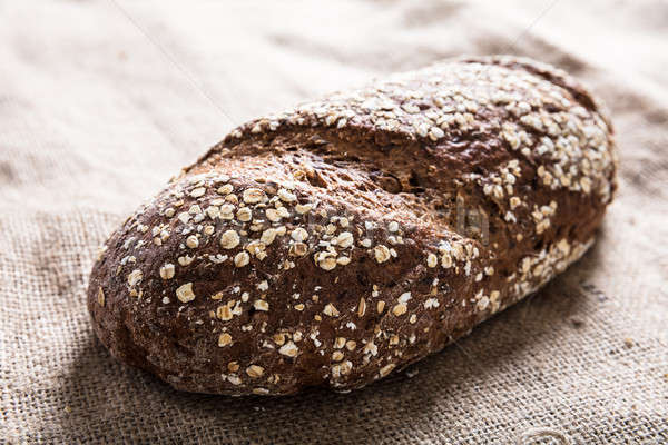 Céréales pain sac Photo stock © AndreyPopov