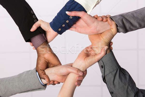 United Hands Of Business Team Stock photo © AndreyPopov