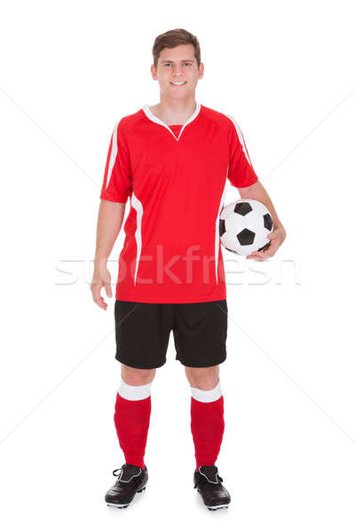 Portrait Of Young Soccer Player Stock photo © AndreyPopov