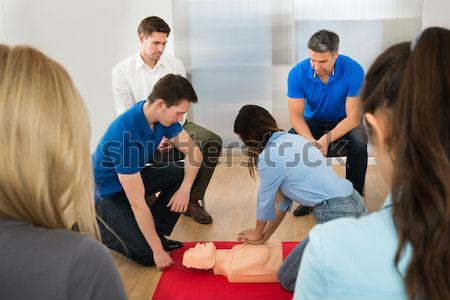 Resuscitation Training Stock photo © AndreyPopov
