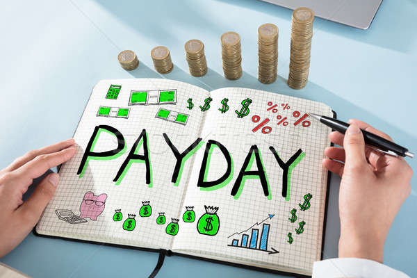 Payday Employee Compensation Stock photo © AndreyPopov