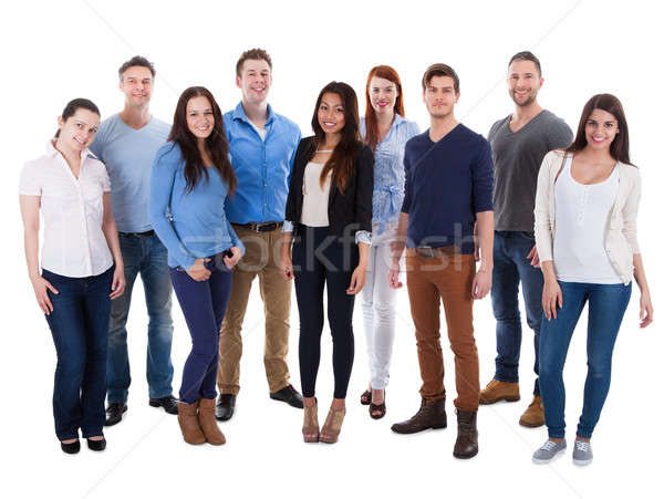 Group of diverse people Stock photo © AndreyPopov