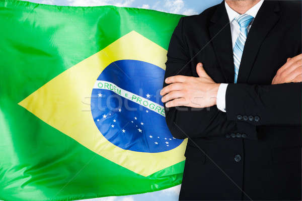 Confident Brazilian Businessman Stock photo © AndreyPopov
