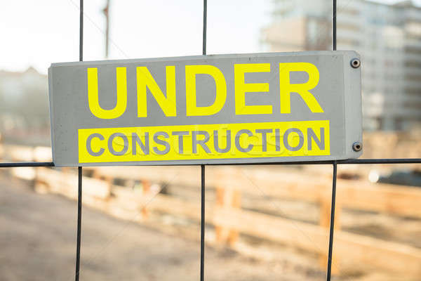An Under Construction Site Stock photo © AndreyPopov