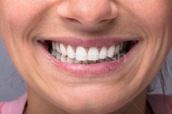 Happy Female Smiling Stock photo © AndreyPopov