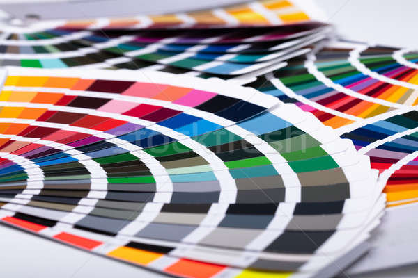 Close-up Of Colorful Swatch Stock photo © AndreyPopov