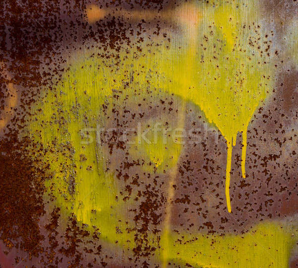 old metal and paint Stock photo © Andriy-Solovyov