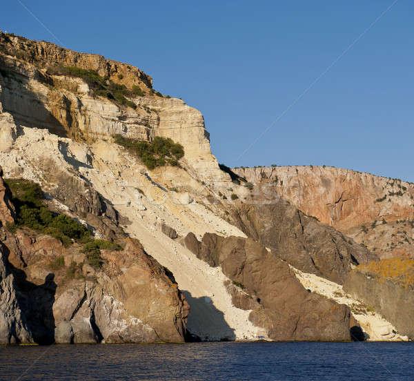 морской пейзаж уничтожения пляж воды природы пейзаж Сток-фото © Andriy-Solovyov