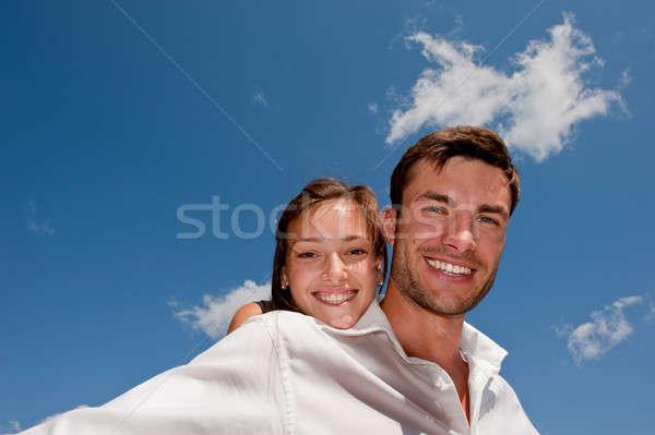 влюбленный молодые парень девушки молодым человеком женщину Сток-фото © Andriy-Solovyov