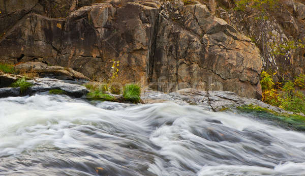rocky and flowing water Stock photo © Andriy-Solovyov
