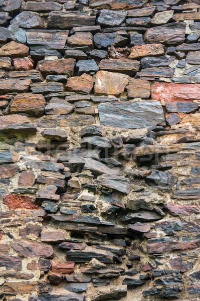 Duvar eski taş duvar arka plan taş Stok fotoğraf © Andriy-Solovyov