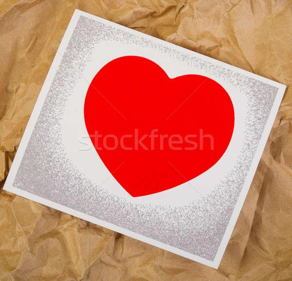 valentine card Stock photo © Andriy-Solovyov