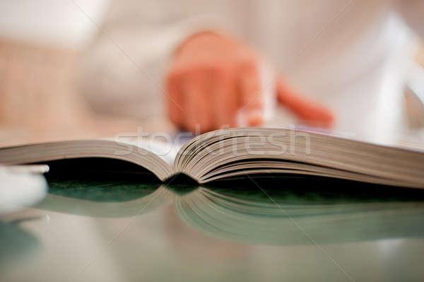 book and hand Stock photo © Andriy-Solovyov
