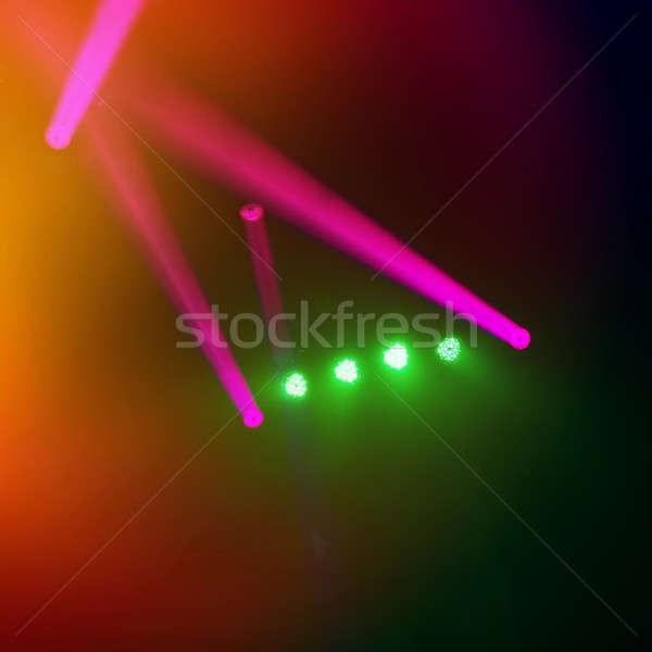 Verschwommen Konzert Bühne Musik Design Hintergrund Stock foto © Andriy-Solovyov