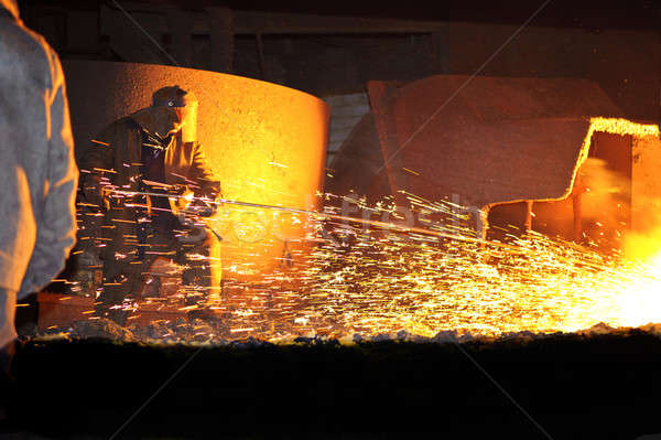 metallurgy, domain production Stock photo © Andriy-Solovyov