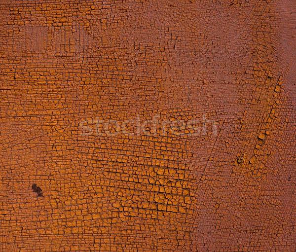 Velho pintar enferrujado metal folha coberto Foto stock © Andriy-Solovyov