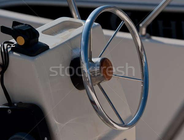 Barco volante mar viajar navio Foto stock © Andriy-Solovyov