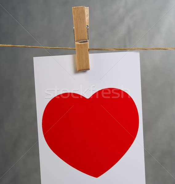 valentine card Stock photo © Andriy-Solovyov