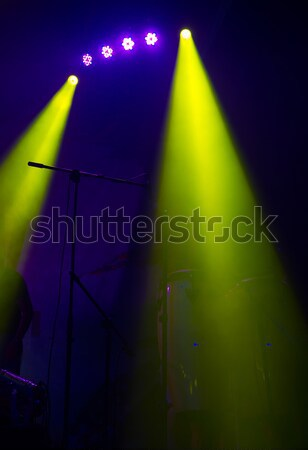 spotlights illuminating Stock photo © Andriy-Solovyov