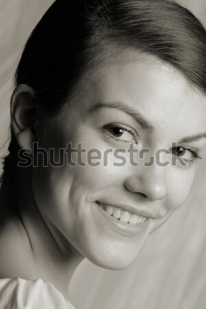 woman speaks Stock photo © Andriy-Solovyov