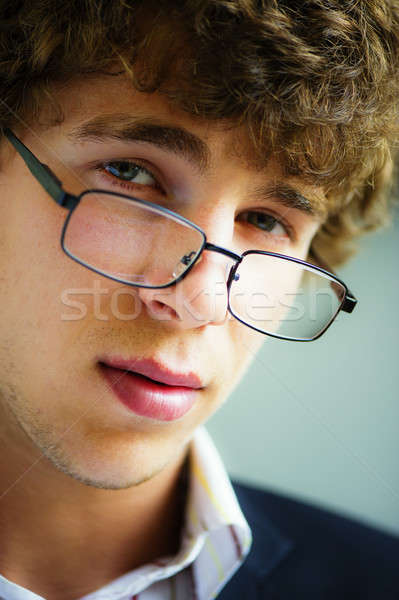 businessman wearing spectacles Stock photo © Andriy-Solovyov