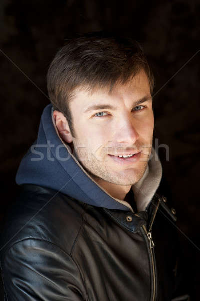 face of young fellow Stock photo © Andriy-Solovyov