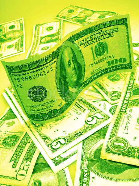 Cent dollars dollar monétaire affaires Photo stock © Andriy-Solovyov