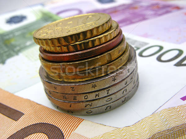 monay euro Stock photo © Andriy-Solovyov