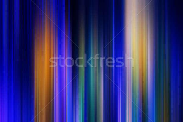 Abstração turva abstrato cor vertical linhas Foto stock © Andriy-Solovyov