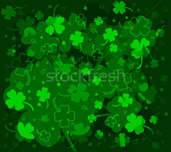 Clover background Stock photo © Anettphoto
