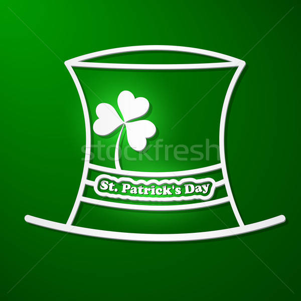 St. Patrick's Day card Stock photo © Anettphoto