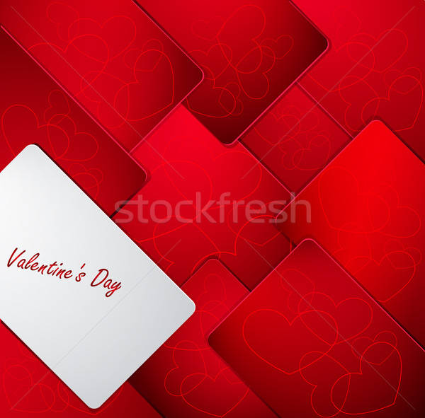 Abstract Valentine's day background Stock photo © Anettphoto