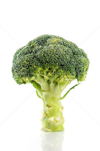 Broccoli bianco verde vegetali isolato alimentare Foto d'archivio © Anettphoto