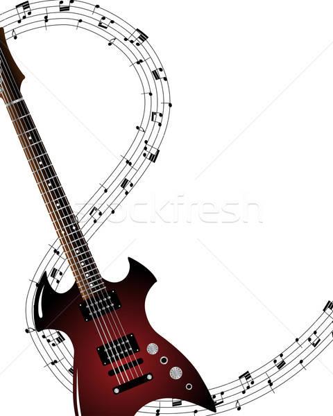 Stock photo: Musical grunge background