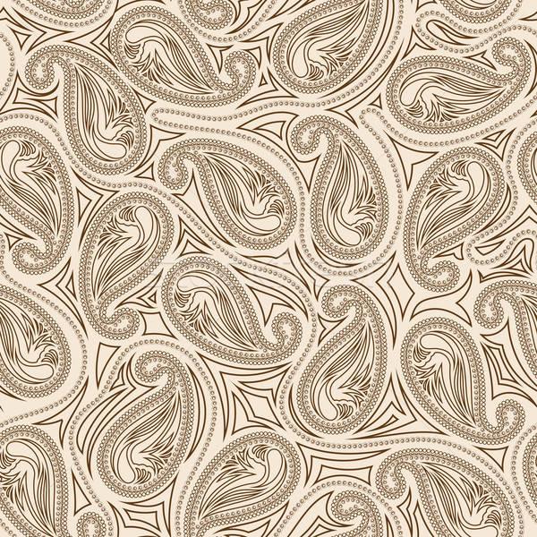 Oriental paisley seamless pattern Stock photo © angelp