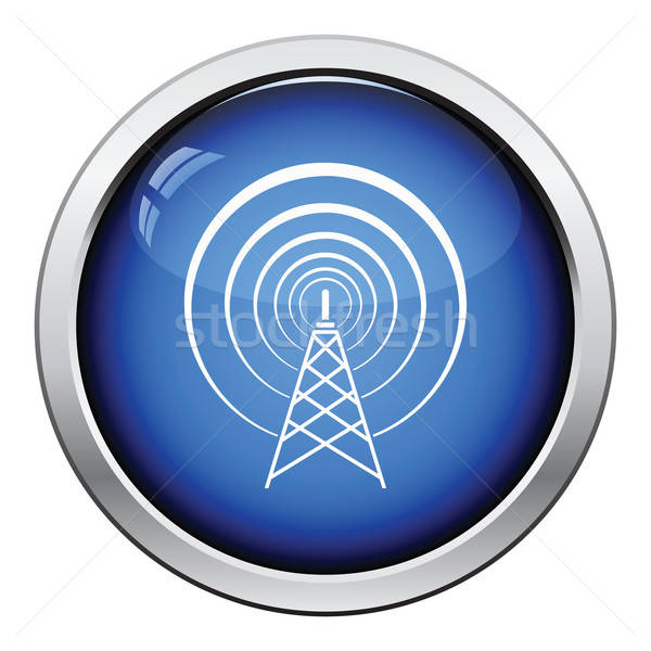 Radio antenna icon Stock photo © angelp