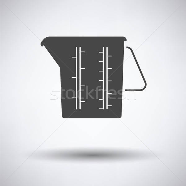 Measure glass icon Stock photo © angelp