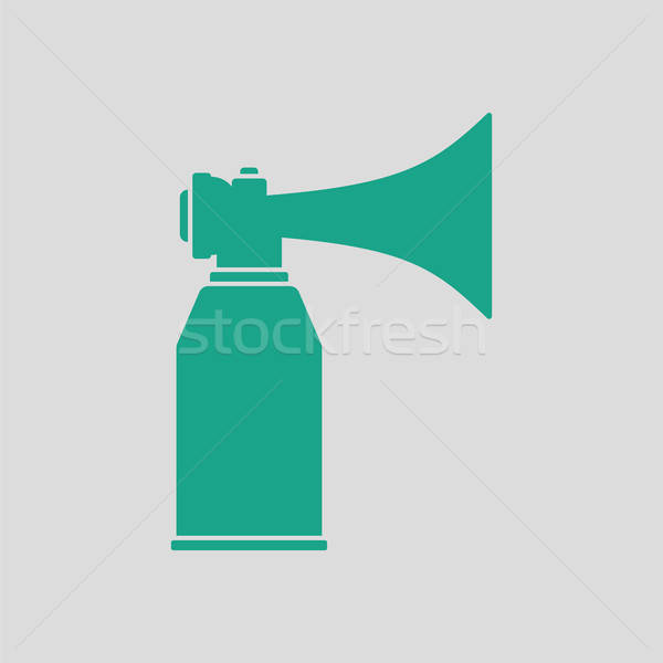 Football fans air horn aerosol icon Stock photo © angelp