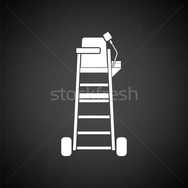 Tennis referee chair tower icon Stock photo © angelp
