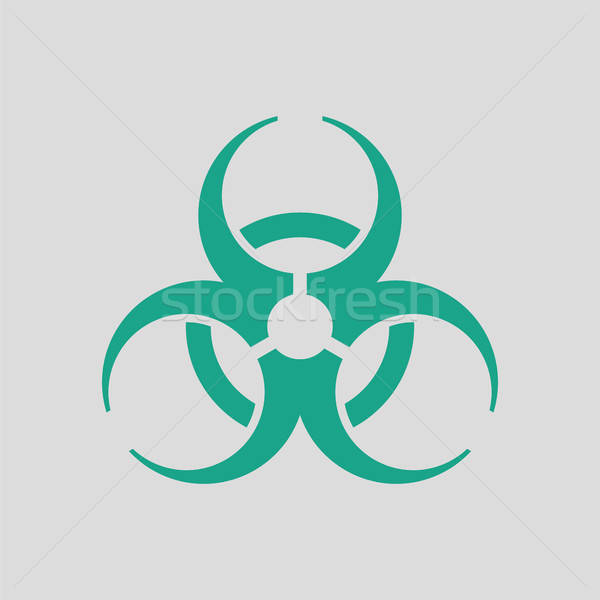Biohazard icon Stock photo © angelp
