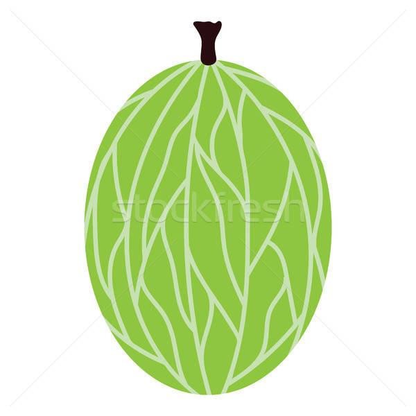 Diseno icono ui colores naturaleza frutas Foto stock © angelp